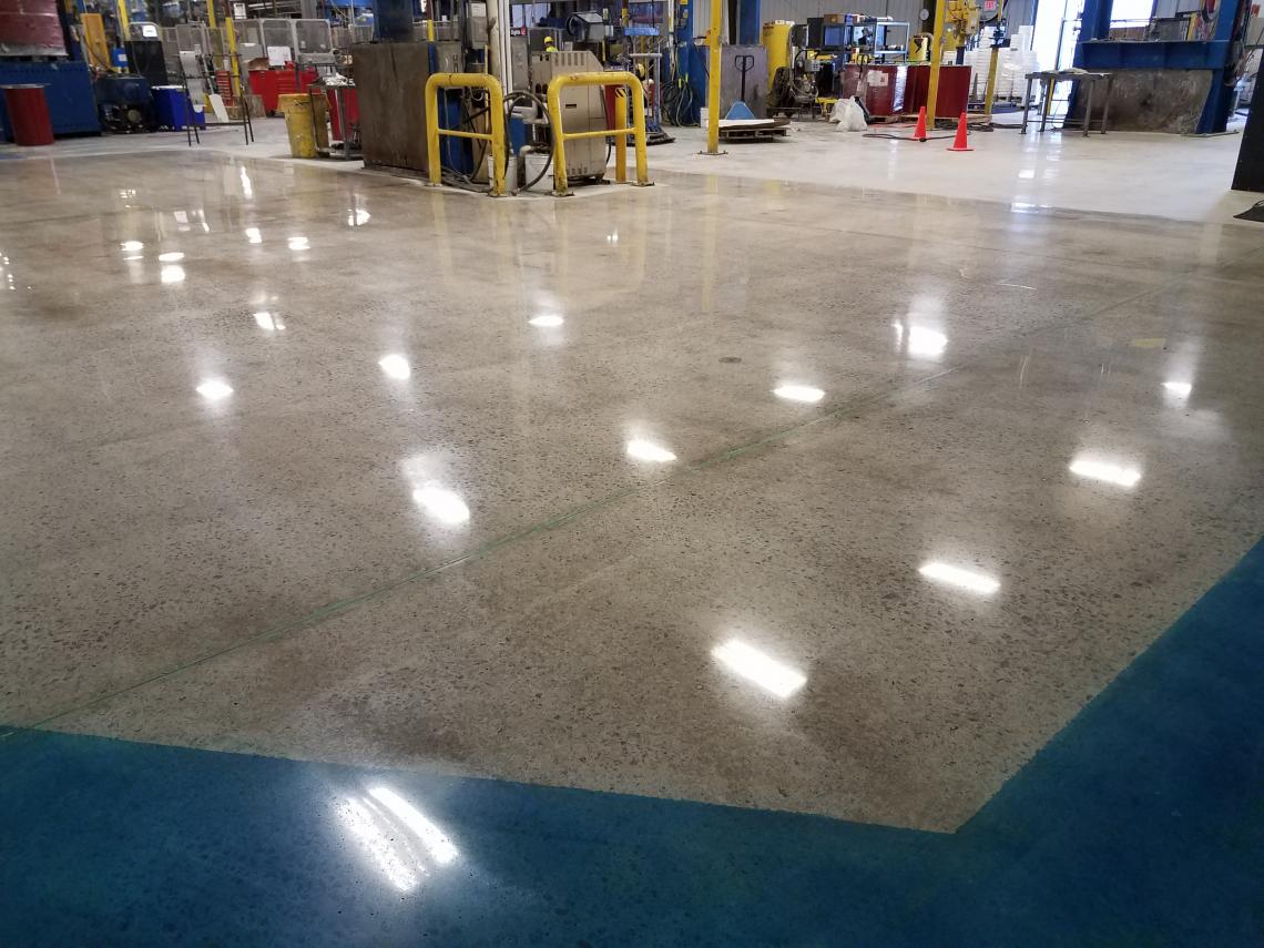 Concrete Floor Repair Polishing Questmark Portfolio