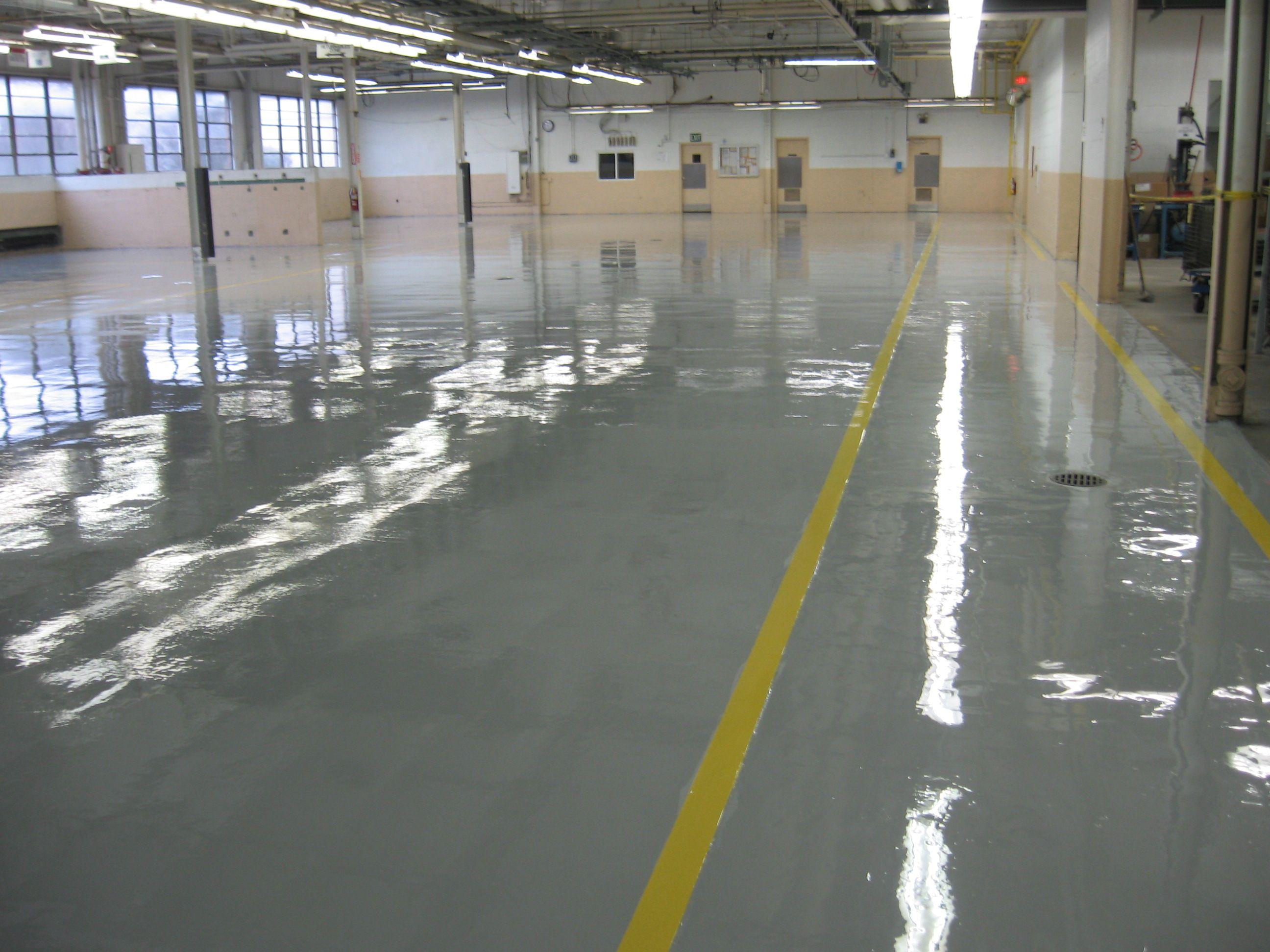 urethane floor system