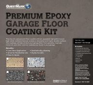Premium Epoxy Garage Floor Coating Kit from QuestMark