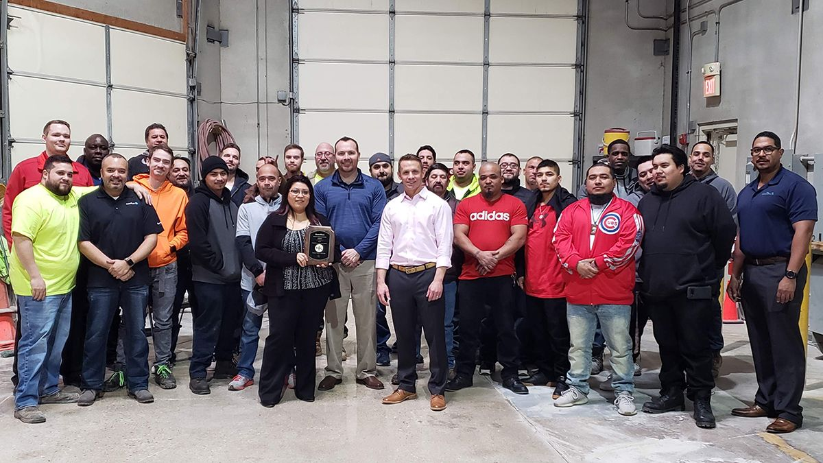 QuestMark commercial flooring crew in Chicago, IL