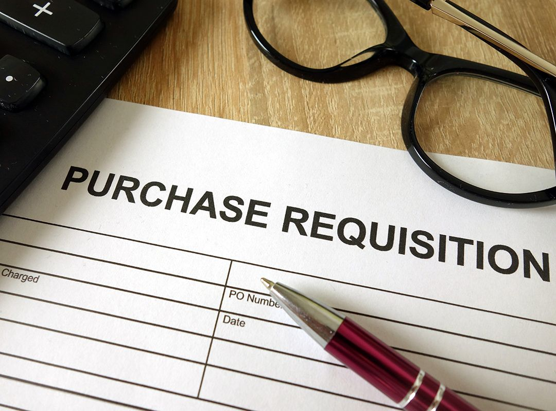 purchase requisition paper
