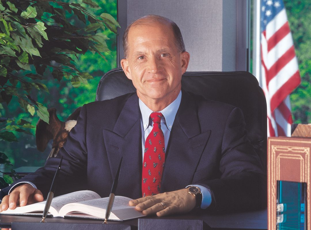 Edward B Dunlap, founder of CentiMark Corporation