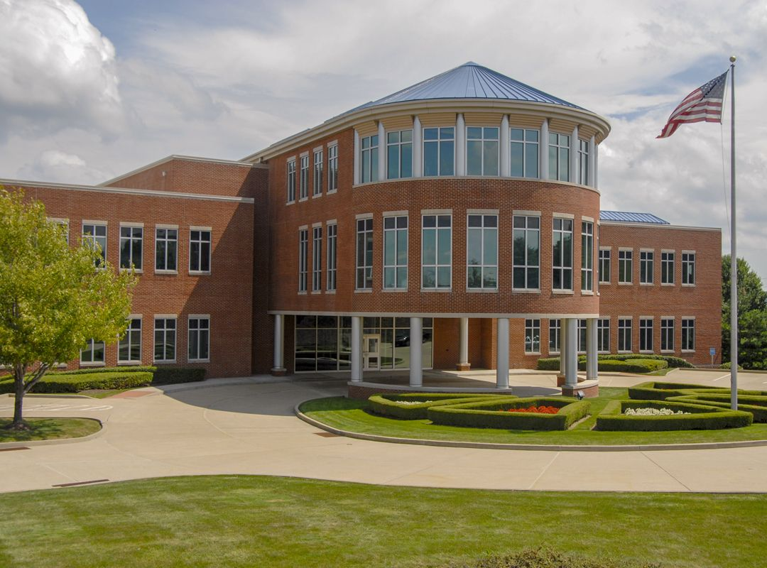 CentiMark Corporation headquarters is a large brick building